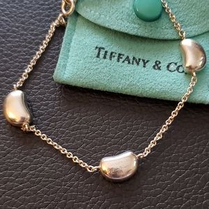 🌟 Authentic Tiffany & Co. 3 Bean Bracelet.